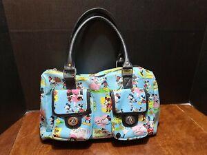 Official Disney Parks Mickey Minnie Mouse Cartoon Comic Strip Purse Handbag