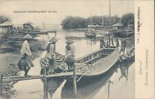 Dutch Indies Losarang Indramajoe fishermen 1910 PC
