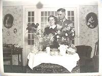 FOTO KRIEGSHOCHZEIT DT WEHRMACHT 2. WELTKRIEG WW II 3. REICH ORIGINAL MIT BRAUT