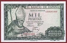 SPAIN. 1000 Pesetas de 1965  Serie: 1E  ( SC  / UNC )