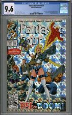 Fantastic Four #375 CGC 9.6 NM+ Inhumans & Doctor Doom Appearance WHITE PAGES