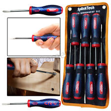 7Pc Fully Insulated Electrical Phillips Slotted Screwdriver Set Repair Tool Kit