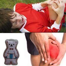 3x Children's Reusable Hot & Cold Heat Ice Gel Pack Bear
