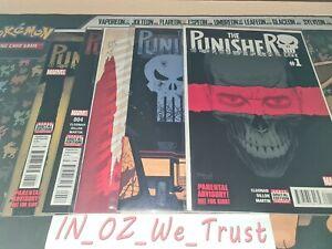 The Punisher #1, 2, 3, 4 & 5 (Marvel Comics, 2016)