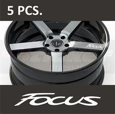 5 pcs Ford Focus Door Handle Wheel sticker decal