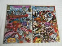 Image Comics Youngblood (1992 series) Battlezone #1 and #2 VF/NM Condition