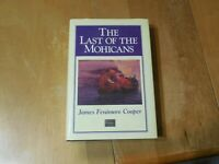 The Last of the Mohicans James Fenimore Cooper Fiction & Literature Classics