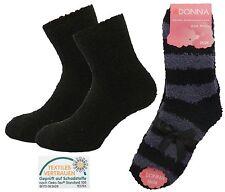 Warme Bettsocken für Damen 8er Pack - SUPERSOFT - Kuschel-Socken - Haussocken