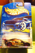 Hotwheels Hot Wheels Purple Pearl Custom Cougar Yellow Dragon PR5 #16  2002