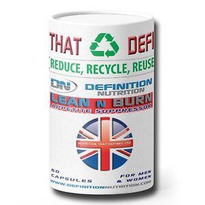 Lean n Burn Fat Burner , Definition Nutrition 100% Recyclable Packaging