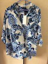 Paraphrase Long Sleeve Blouse Size S,10/36
