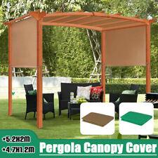 Patio Pergola Canopy Replacement Cover Outdoor Garden Yard 200g/sqm UV30+