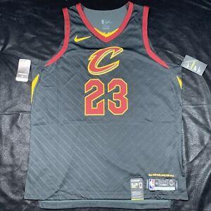 Nike Aeroswift Cleveland Cavaliers Lebron James Statement Jersey Size XL Black