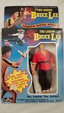Rare 1986 Bruce Lee the Legend LarGo Action Figure. Boxed & complete.