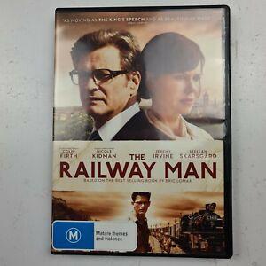 THE RAILWAY MAN - DVD Region 4 - Colin Firth Nicole Kidman Tracked Post