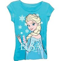 Disney Frozen Elsa & Anna Girl's Graphic T-shirt - 3 Styles Available