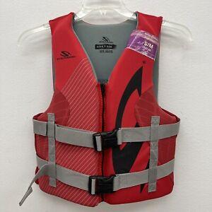 Stearns Adult Small/Medium Hydroprene  Life Vest Jacket Swim Ski Boating