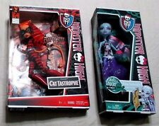 Monster High Dolls Toralei , Abbey Bominable New NIB LOT of 2