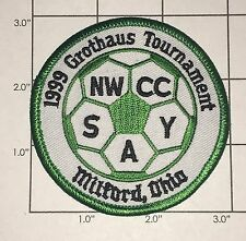 1999 Grothaus Tournament Patch - Soccer - Ohio