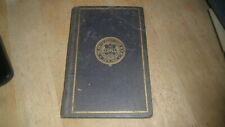 NEW SOUTH WALES 1909 CONSTITIUTIONS OF FREE & ACCEPTED MASONS