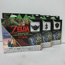 Enterplay Nintendo The Legend of Zelda Collector Fun Box Set of 3 Exclusive Pins