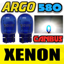 580 W21/5W DRL PARKING BULBS XENON HID WHITE POLARG M13 FIT VAUXHALL ASTRA J
