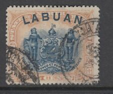 Labuan 1897 QV 24c grey-lilac (p14½-15) good used. SG 97a. Sc 82.