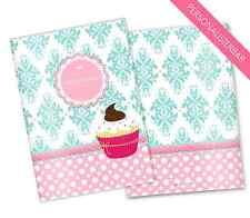 Mutterpass Hülle 3-teilig Cupcake #3 Schwangerschaft Mutterpasshülle
