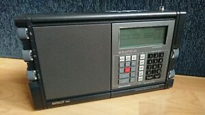 Excellent Grundig Satellit 700 Portable Digital RDS Battery Radio World Receiver