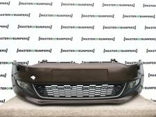 VW POLO 6R 2009-2014 FRONT BUMPER IN BROWN COMPLETE [V347]