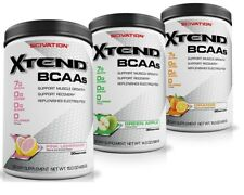 Scivation Xtend BCAA Powder 30 90 Servings Amino Acids + Glutamine Intraworkout