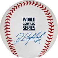 Randy Arozarena Tampa Bay Rays Autographed World Series Logo Baseball
