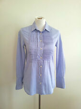 Smart Casual! J. Crew size 0 blue cotton shirt in excellent condition