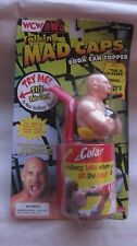 WCW/NWO Talking Mad Caps Goldberg Figure Soda Can Topper Funomeon 1999  NEW t828