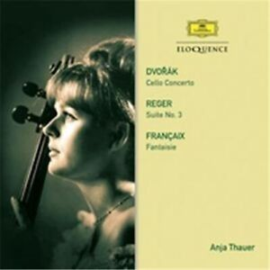 ANJA THAUER - DVORAK: CELLO CONCERTO * NEW CD