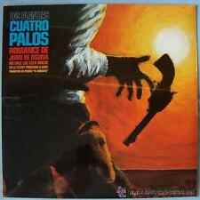 """LOS PLANETAS """"Cuatro Palos"""" EP VINILO"""