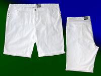 Damenhose Bermuda kurze Hose Shorts  Jeans Caprihose Stretch  Übergröße Gr. 58