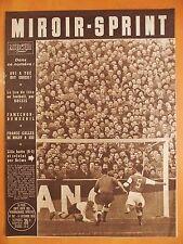Miroir-Sprint N° 392 du 14/12/1953-France-Galles de rugby XIII-Lille battu 0-1