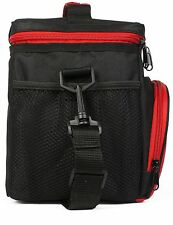 Insulated Lunch Bag: InsigniaX Adult Lunch Box For Work, Men, Women With Adjusta