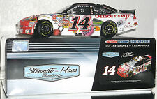 2010 TONY STEWART #14 OFFICE DEPOT BACK TO SCHOOL 1/24 CAR#1129 OF 2021 MADE