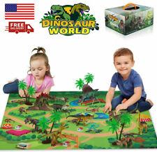 New listing Dinosaur Toys Activity Play Mat Dinosaur Figures Playset Kids,Boys,Girls Gift