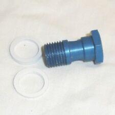 speedway/grasstrack  Fuel banjo bolt  (blixt/BZ) plus washers