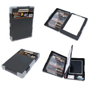 Tactix Clipboard Organiser Documents Stationary Tablet Protective Case Office
