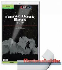 "BCW Graded Resealable Comic Book Bags 9"" x 14"" - Qty. 1,000"