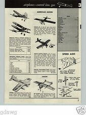 1957 PAPER AD 12 PG Wen Mac Berkeley Gas Gasoline Engine Hobby Airplanes Guillow