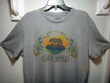Lucky Brand Mens T-Shirt Keep California Green Color Gray Size Large
