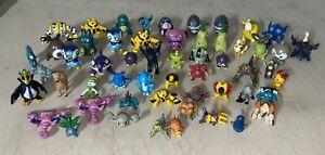 Lot of 55 Vintage Pokemon Figures Squirtle Blastoise w/ Legendaries