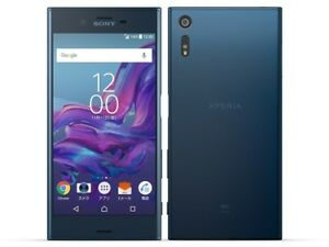 AU KDDI SONY SOV34 XPERIA XZ ANDROID PHONE SMARTPHONE UNLOCKED JAPAN BLUE NEW