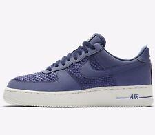 🔥 2019 Nike Air Force 1 Lo ® (  Men Sizes UK: 7 - 12 ) Dark Blue Recall / Sail