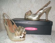 Stiletto Slingbacks Moda in Pelle Shoes for Women